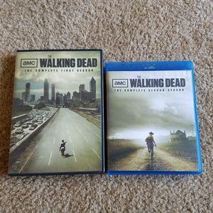 Walking Dead DVD season 1 & 2